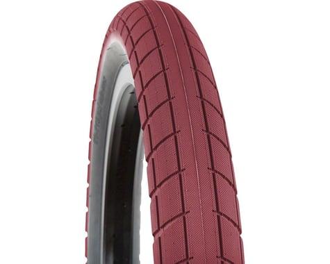 BSD Donnasqueak Tire - 20 x 2.25, Clincher, Steel, Dark Red/Black