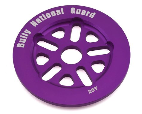 Bully National Guard Sprocket (Purple) (25T)