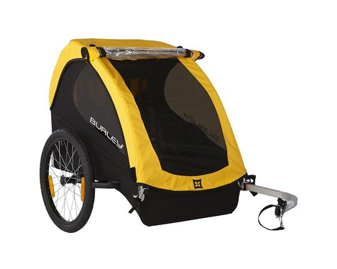 Burley Bee Bike Trailer (Yellow)