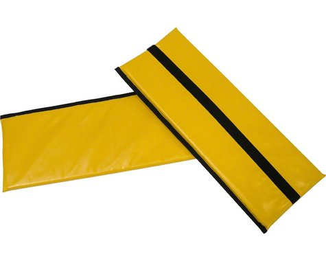 Burley Rental Cub Seat Pad (Yellow) (For 2014-Present Rental Cub Models)