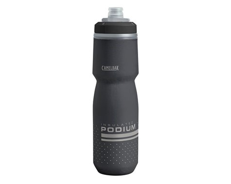 Camelbak Podium Chill Insulated Water Bottle (Black) (24oz)