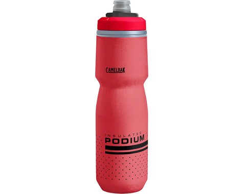 Camelbak Podium Chill Insulated Water Bottle (Fiery Red) (24oz)