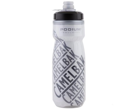 Camelbak Podium Chill Insulated Water Bottle (Black/White) (21oz)