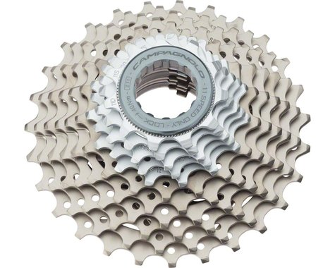 Campagnolo Super Record Cassette (Silver/Grey) (11 Speed) (11-27T)