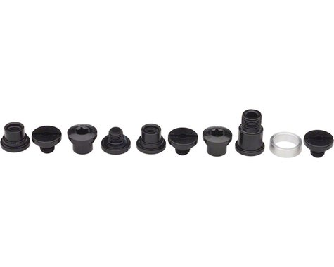 Campagnolo Power-Torque Chainring Bolt Kit, Black