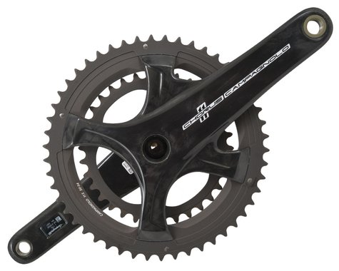 Campagnolo Chorus Carbon Crankset (Black) (2 x 11 Speed) (UltraTorque) (175mm) (50/34T)