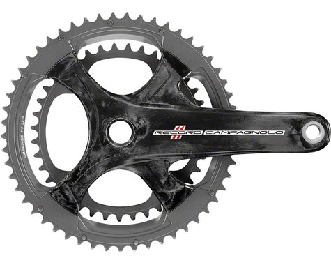Campagnolo Record Crankset - 175mm, 11-Speed, 50/34t, 112/146 Asymmetric BCD, Ul