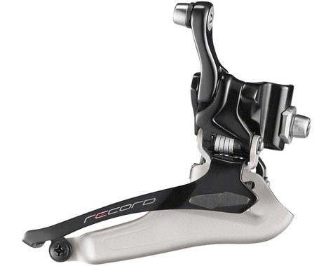 Campagnolo Record Carbon Front Derailleur (2 x 12 Speed) (Braze-On)
