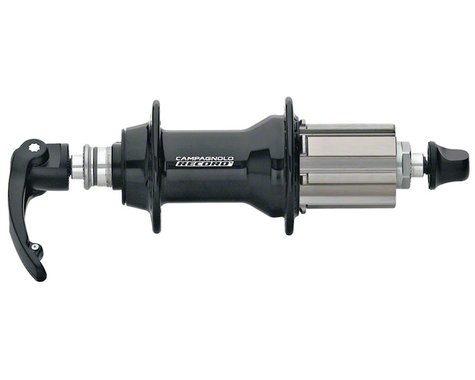 Campagnolo Record Rear Hub (Black) (32H) (Campagnolo 10-12 Speed)