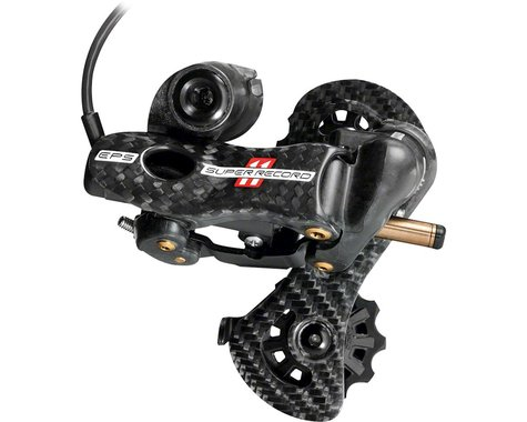 Campagnolo Super Record EPS Rear Derailleur (Black/Carbon) (11 Speed) (Short Cage)