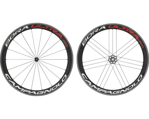 Campagnolo Bora Ultra 50 Wheelset (Bright Label) (700c) (QR x 100/135mm) (Clincher)