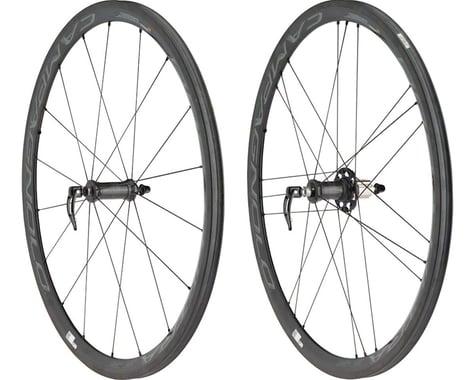 Campagnolo Bora Ultra 35 Wheelset - 700c, QR x 100/135mm, Dark Label, Tubular
