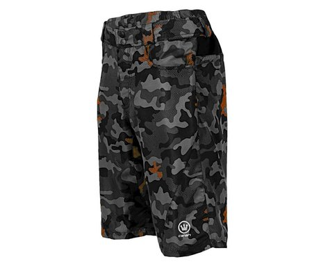 Canari Atlas Gel Baggy Cycling Short (Camo Orange)