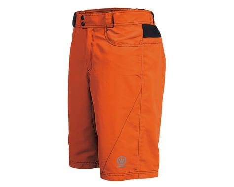 Canari Atlas Gel Baggy Cycling Shorts (Orange)