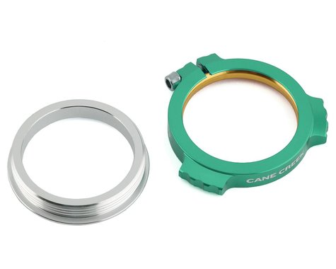 Cane Creek Alloy Preload Collar w/ Ti Bolt (Green) (30mm/28.99mm)
