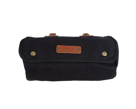 Cardiff Kilgetty Roll Bag (Black & Brown)