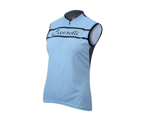 Castelli Women's Promessa Sleeveless Jersey (Blue)