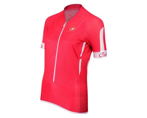 Castelli Women's Climbers Short Sleeve Jersey (Raspbry)