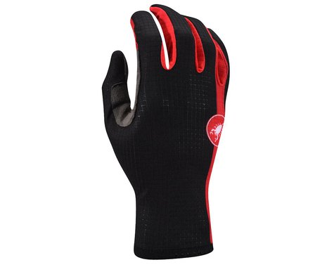 Castelli Scudo Gloves - Performance Exclusive (Black/Red)