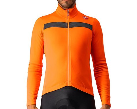 Castelli Puro 3 Long Sleeve Jersey (Orange) (S)