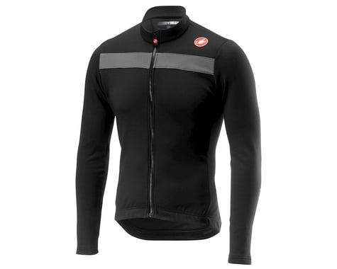 Castelli Puro 3 Long Sleeve Jersey (Light Black) (M)