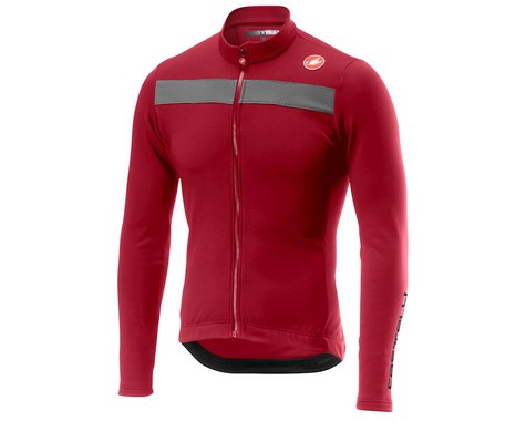 Castelli Puro 3 Long Sleeve Jersey (Pro Red) (2XL)