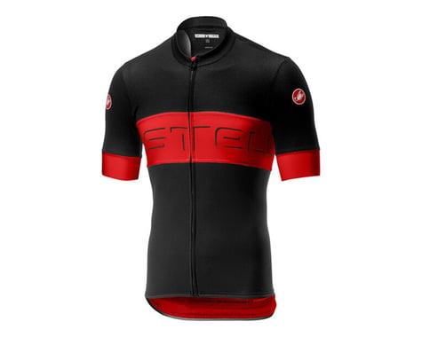 Castelli Prologo VI Short Sleeve Jersey (Black/Red) (L)