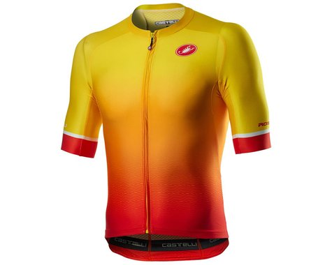 Castelli Aero Race 6.0 Short Sleeve Jersey (Sunset) (S)