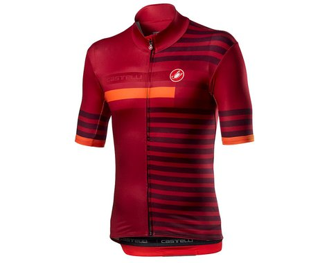 Castelli Mid Weight Pro Short Sleeve Jersey (Pro Red) (M)