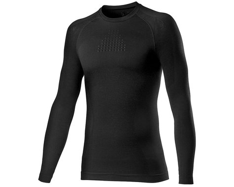 Castelli Core Seamless Long Sleeve Base Layer (Black) (S/M)