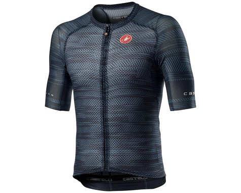 Castelli Climber's 3.0 SL Short Sleeve Jersey (Dark Steel Blue) (2XL)