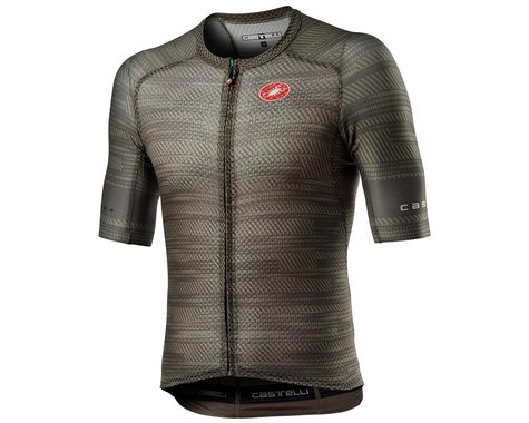 Castelli Climber's 3.0 SL Short Sleeve Jersey (Bark Green) (XL)