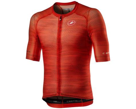 Castelli Climber's 3.0 SL Short Sleeve Jersey (Fiery Red) (2XL)