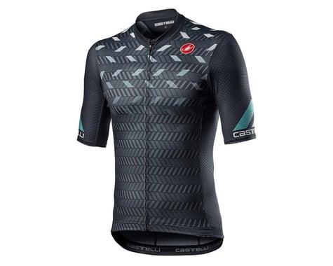 Castelli Avanti Short Sleeve Jersey (Dark Grey) (M)