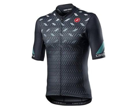 Castelli Avanti Short Sleeve Jersey (Dark Grey) (L)