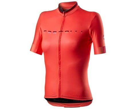 Castelli Gradient Women's Short Sleeve Jersey (Brillant Pink) (L)