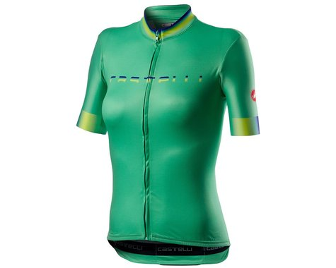 Castelli Gradient Women's Short Sleeve Jersey (Jade Green) (S)
