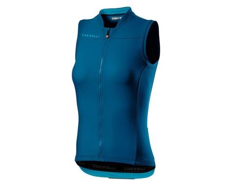 Castelli Anima 3 Women's Sleeveless Jersey (Marine Blue) (L)