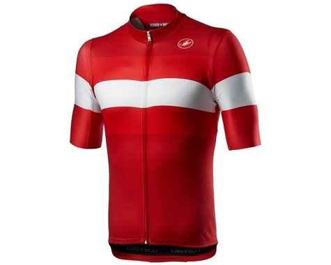 Castelli LaMitica Short Sleeve Jersey (Red) (S)