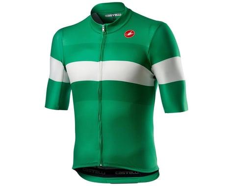 Castelli LaMitica Short Sleeve Jersey (Lombradia Green) (XL)