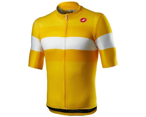 Castelli LaMitica Short Sleeve Jersey (Saffron) (S)