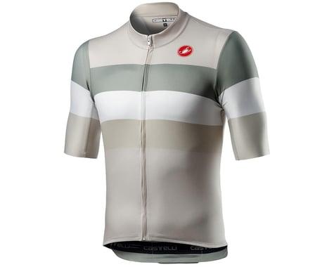 Castelli LaMitica Short Sleeve Jersey (Concrete Grey) (L)