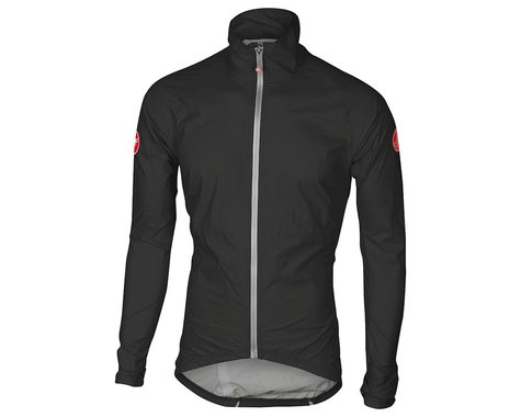 Castelli Emergency Rain Jacket (Black) (S)