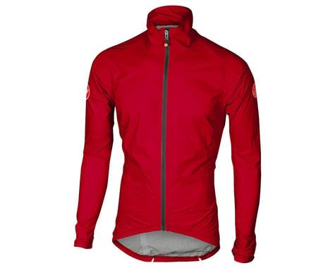 Castelli Emergency Rain Jacket (Red) (S)