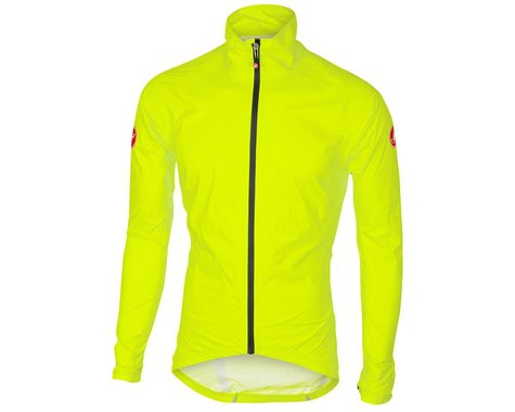 Castelli Emergency Rain Jacket (Yellow Fluo) (3XL)
