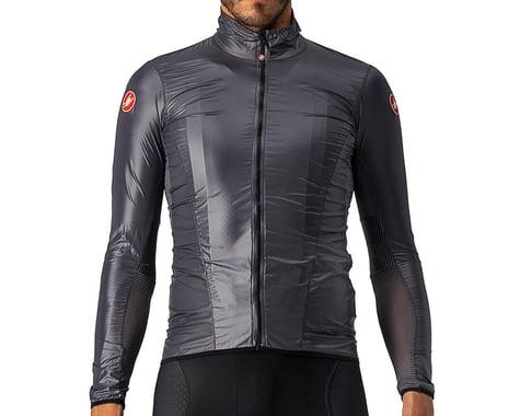 Castelli Aria Men's Shell Jacket (Dark Grey) (XL)