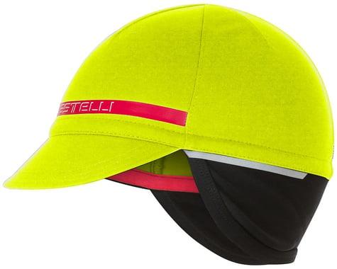Castelli Difesa 2 Cap (Yellow Fluo) (Universal Adult)