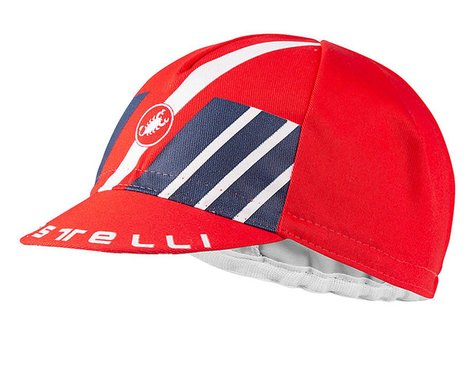 Castelli Hors Categorie Cap (Red) (Universal Adult)