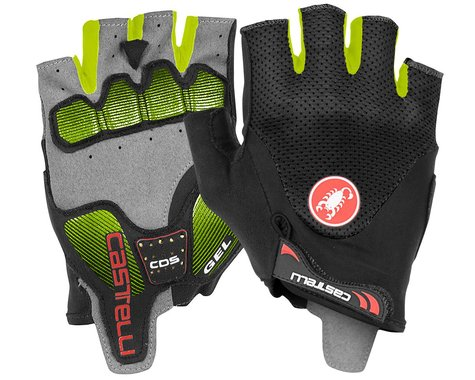 Castelli Arenberg Gel 2 Gloves (Black/Yellow Fluo) (L)