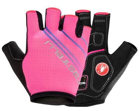 Castelli Dolcissima 2 Women's Gloves (Pink Fluo) (M)